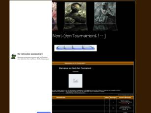 Next Gen Tournament !