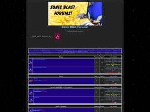 The ULTIMATE FORUM for Sonic Lovers!.