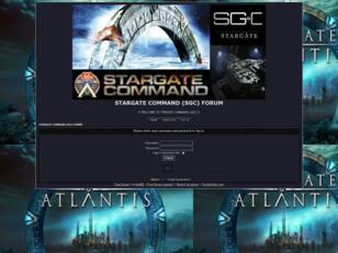 STARGATE COMMAND (SGC) FORUM