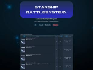 L'univers Starship Battlesystem