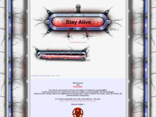 creer un forum : Stay Alive