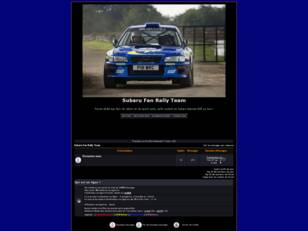 Subaru GC8 - Rally Team