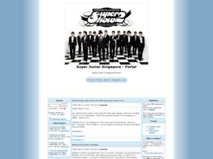 Super Junior Official Singapore Forum