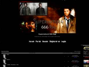 Supernatural 666 Rpg