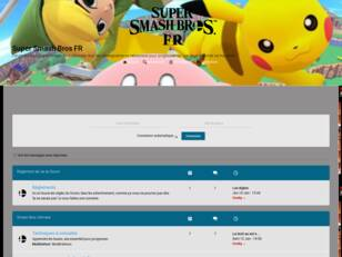 Forumactif.com : Super Smash Bros FR
