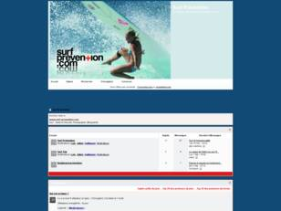 Le forum de Surf Prevention