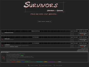 Forum officiel des survivants