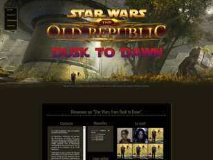 Star Wars : From Dusk to Dawn