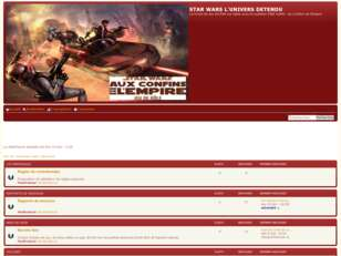 Forum STAR WARS L'UNIVERS DETENDU