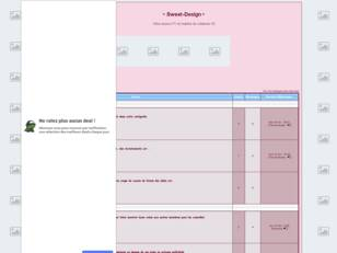 Forum gratis : • Sweet-Design •