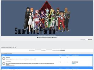 Sword Art Forum