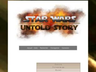 Star Wars Untold Story - Forum RPG