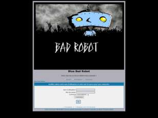 Blue Bad Robot