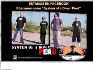 System Of A Down Perú peru soad lima club fans