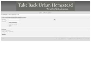 Take Back Urban Homesteading