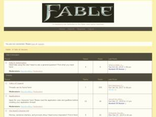 Fable: A Tale of Heroes