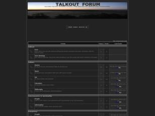 Talkout  Forum