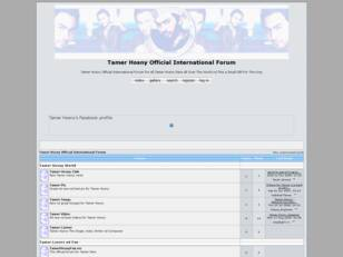 Tamer Hosny Official International Forum