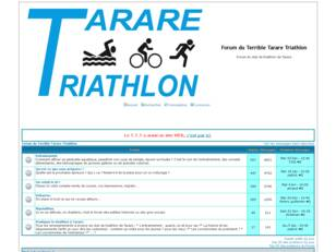 Forum du Tarare Triathlon.