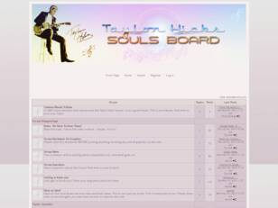 The Taylor Hicks Souls Board