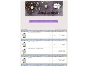 creer un forum : Scrap en herbe