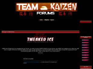 **Welcome to TEAM Kaizen**