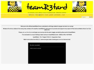 teamR3tard Forum | Banger Racing | Warton Stock Car Club