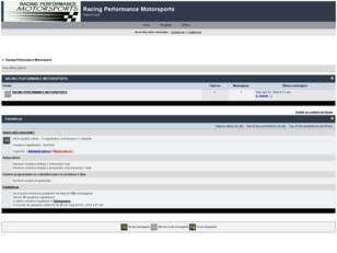 Forum gratis : Racing Performance Motorsports