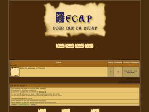 creer un forum : tecap