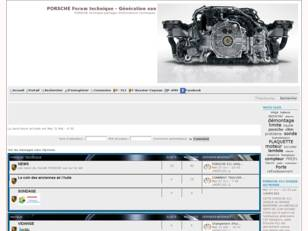 PORSCHE Forum technique