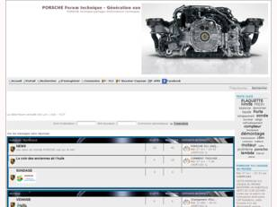 Forumactif.com : PORSCHE Forum technique