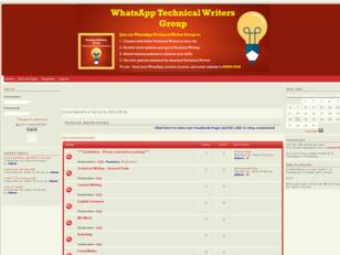 Free forum : Technical Writer Forum