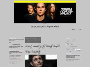 Teen Wolf RPG Forum