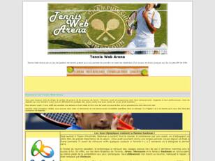 Tennis Web Arena
