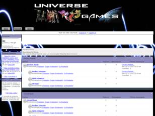 Universe Games