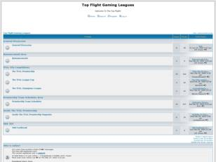Top Flight Gaming Leagues