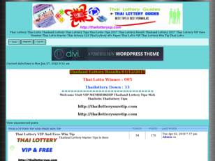 Thai Lottery Tip Thai Lotto Win Tips Thailand Lottery