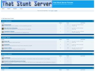 That Stunt Server - Forum