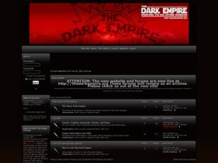 The Dark Empire Sith Costuming Forums