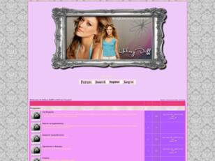 Welcome to Hilary Duff's BG Fan Forum!!