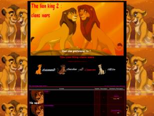 The Lion King clans wars