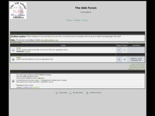 The All About Alliance Official Forum