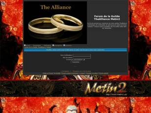 Forum de la Guilde TheAlliance Metin2