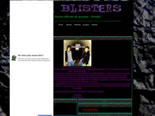 THE BLISTERS: Forum officiel du groupe