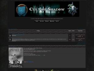 Free forum : The Cult of Shadow