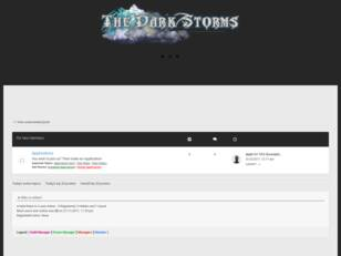 TheDarkStorms Official Forum