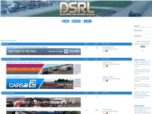 The Dedicated Sim Racing League
