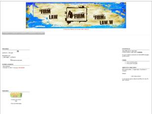 Forum gratis : LAW The Firm