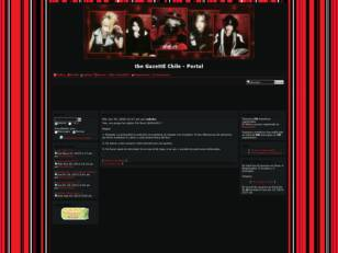 Foro gratis : the GazettE Chile