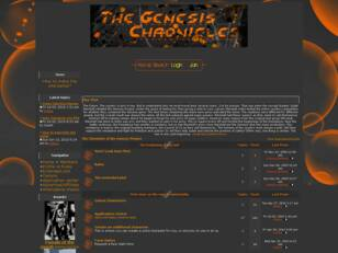 Free forum : The Chronicles of the Genesis Project